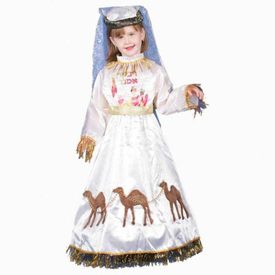 Dress Up America Jewish Mother Rivkah Children's Costume