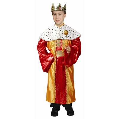 Dress Up America Deluxe King Children's Costume Set