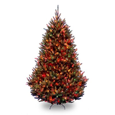 Foot Pre Lit Christmas Tree Multicolor Lights With Stand Multi Color Tree