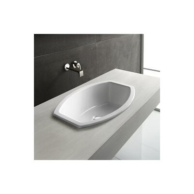 Losagna Oval Stylish Ceramic Self Rimming Bathroom Sink without Overflow - GSI 755411
