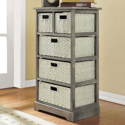 Altra Furniture 5 Drawer Storage Unit