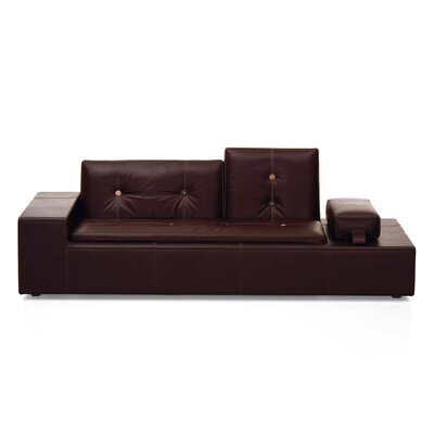 Vitra Polder Leather XS Sofa by Hella Jongerius