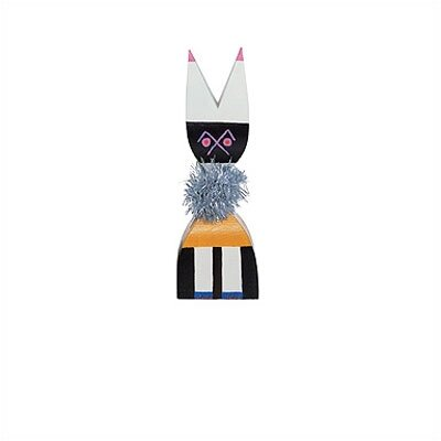 Vitra Vitra Design Museum  - Wooden Dolls no. 9 by Alexander Girard