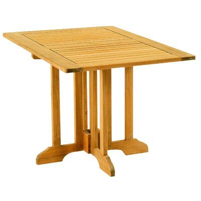 Les Jardins Teak Gate Rectangular Leg Table