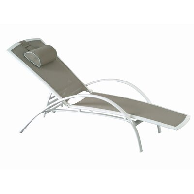 Les Jardins Out of Blue Sunbow Chaise Lounge
