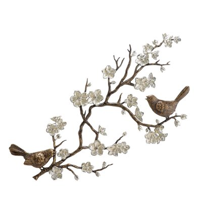 SPI Home Birds and Blossom Wall Plaque