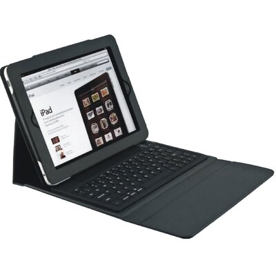 2COOL iPad2 Portfolio with Bluetooth Keyboard in Black