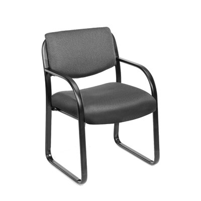 Boss Office Products Guest Chair with Lumbar Support