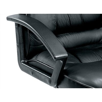 Boss Office Products Ergonomic Leather Guest Chair