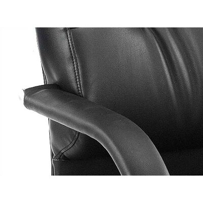 Boss Office Products Caressoft Guest Chair with Mid-Back