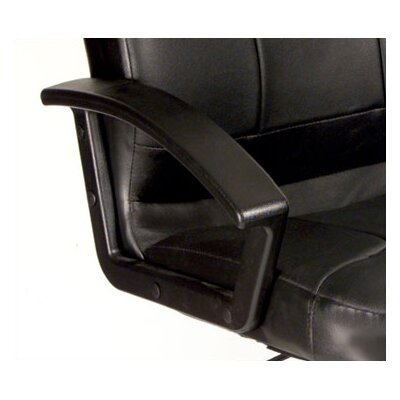 Boss Office Products High-Back Leather Executive Chair