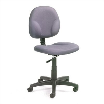 Boss Office Products Mid-Back Ergonomic Task Chair without Arms