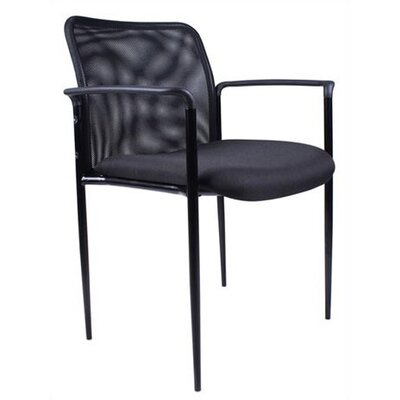 Boss Office Products Mesh Stackable Guest Chair