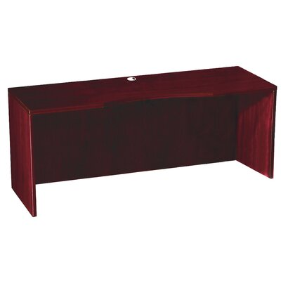 Boss Office Products Curved Credenza Shell