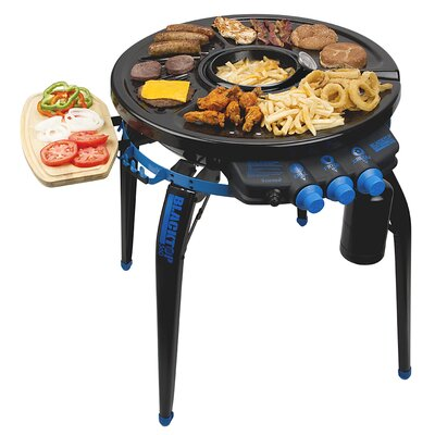 BLACKTOP360 Party Hub Grill Fryer