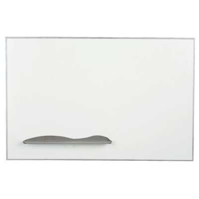 Best-Rite® Ultra Trim Board - Porcelain Markerboard 4'  x 4'