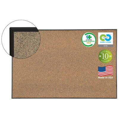 Best-Rite® C2C Ultra Black Splash Cork Bulletin Board