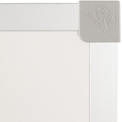 Best-Rite® 4' x 12' Porcelain Steel Markerboard with ABC Trim