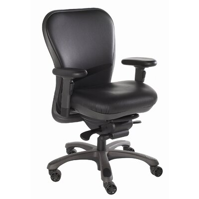 Nightingale Chairs Mid-Back Leather CXO Executive Chair