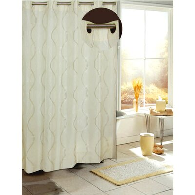 Ez On Bristol Fabric Shower Curtain