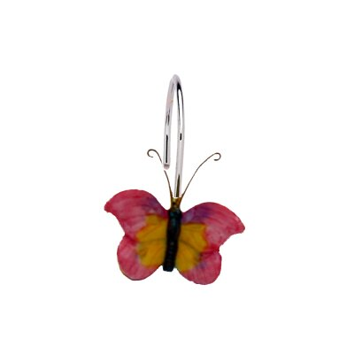Butterfly Shower Curtain Hooks - Compare Prices, Reviews and Buy