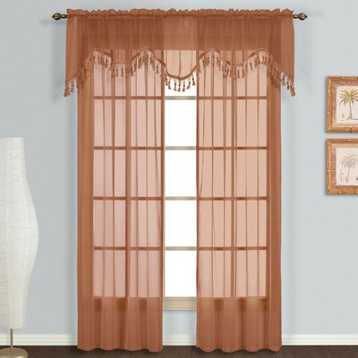 United Curtain Co. Monte Carlo Scalloped Window Treatment Collection