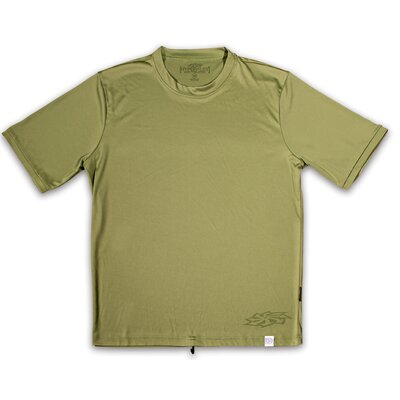 Hyperflex Wetsuits Corpo Short Sleeve Water Tee in Green