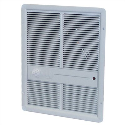 TPI Fan Forced Single - Pole 16,380 BTU ( 240v ) Wall Heater w/o Summer Fan Switch