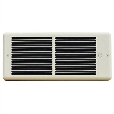 TPI Register Series 6,826 BTU Fan Forced Wall Electric Space Heater with Wall Box