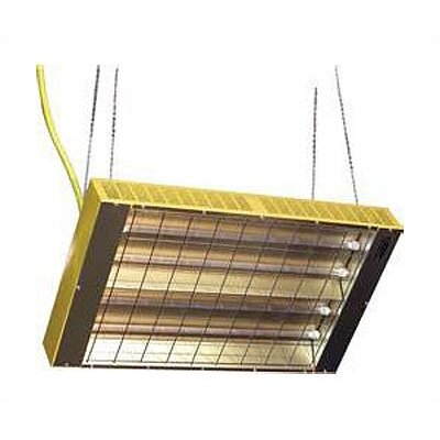 TPI Suspended Quartz Tube Infrared Heater