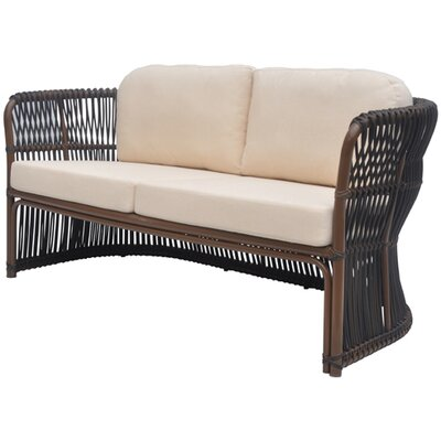 David Francis Furniture Tahiti Loveseat with Cushions
