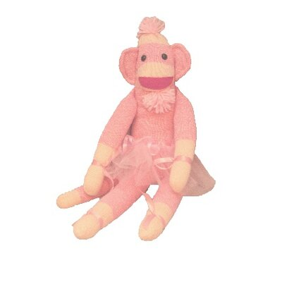 "Ozark Mountain Kids ""Annabell Ballerina"" Sock Monkey"