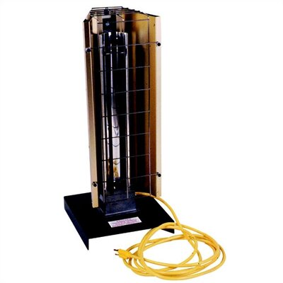 Fostoria Portable Heavy Duty 6,143 BTU Infrared Utility Electric Space Heater