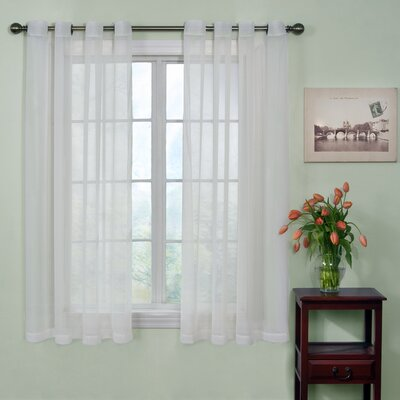 Arm & Hammer™ Curtain Fresh™ Odor-Neutralizing Sheer Voile Grommet Curtain Single Panel