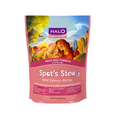 Halo Pets Spot's Stew Wild Salmon Adult Dog Food