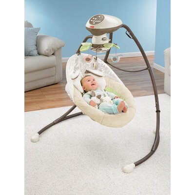 Fisher-Price My Little Snug A Bunny Cradle and Swing