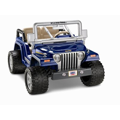 Fisher-Price 12V Power Wheels Jeep Wrangler Rubicon