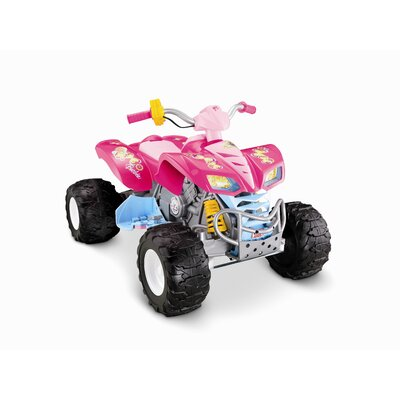 Fisher-Price Barbie Kawasaki KFX with Monster Traction
