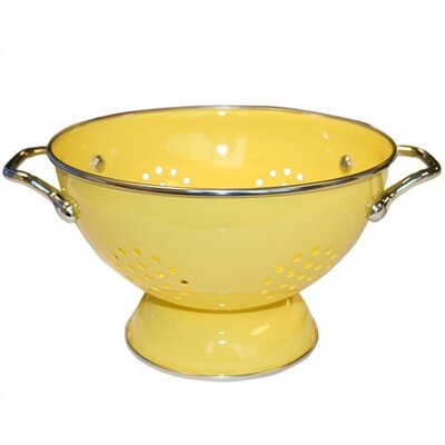 Reston Lloyd Calypso Basics 1.5 Quart Colander in Lemon