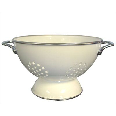 Reston Lloyd Calypso Basics 5 Quart Colander in White