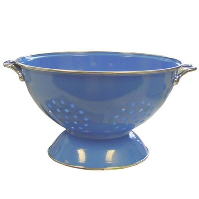 Reston Lloyd Calypso Basics 3 Quart Colander in Azure with optional Accessories