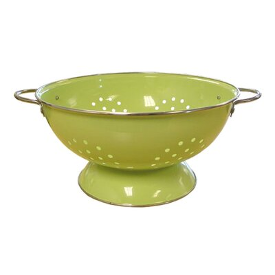 Calypso Basics 7 Quart Colander in Lime