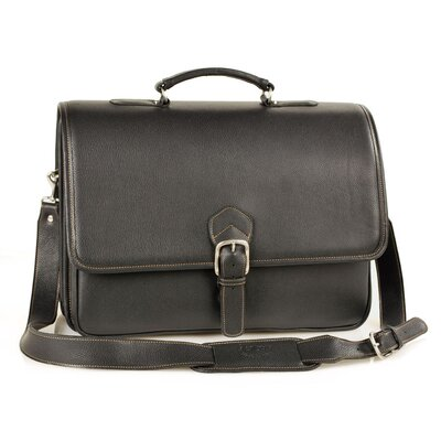 Double Compartment Briefcase with Laptop Case