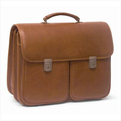 Double Compartment Briefcase with Removable Laptop Case