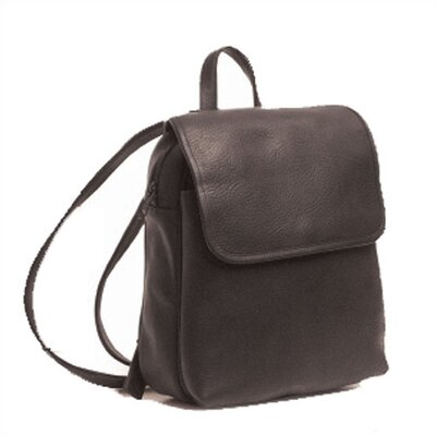 Small Backpack with Top Zipper