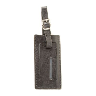 Aston Leather Leather Covered Luggage Tag