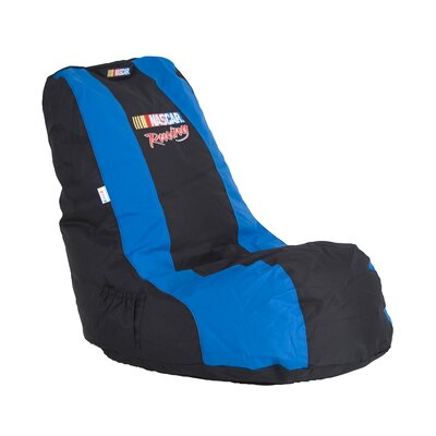 X Rocker Nascar Racing Video Bean Bag Lounger
