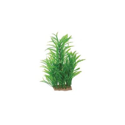 Pure Aquatic Natural Elements Potamogeton Aquarium Ornament in Green