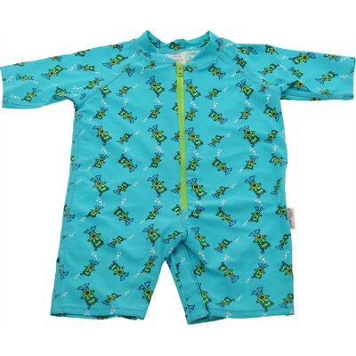 One Piece Rush Guard in Scuba Bear Print