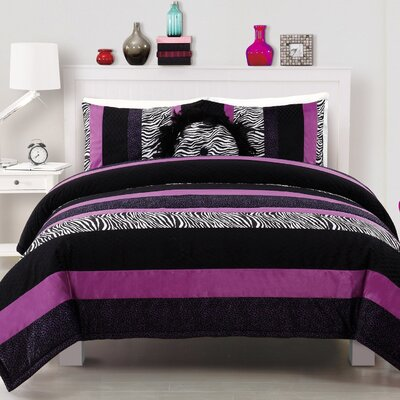 Posh Purple Comforter Collection